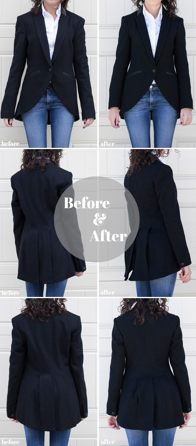 Adventures in Alterations – Rag & Bone Hubert Jacket