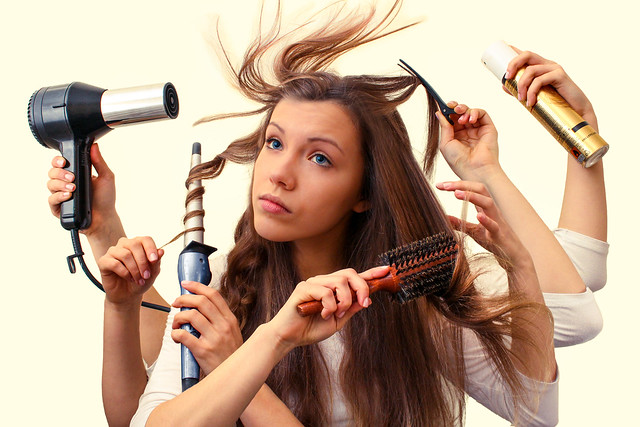 Simple tricks to make your hair look clean when it's not