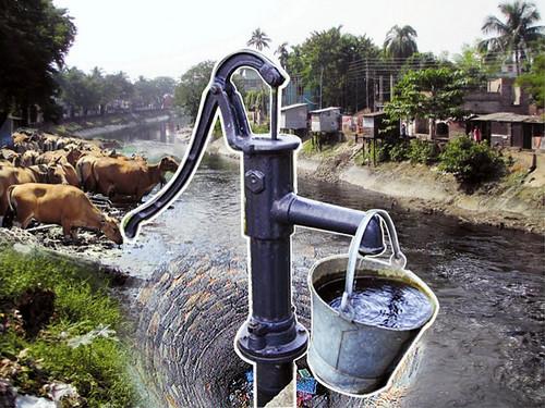 दूषित पानी से पनप रही हैं बीमारियां