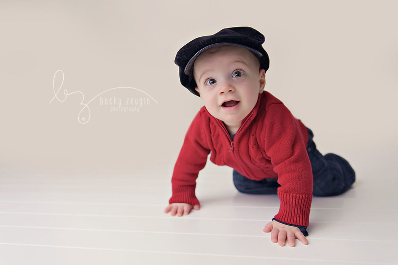 12214173243 78ea54f8cc c Isaac is 6 Months! | McKinney Baby Photographer