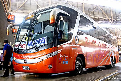 Ramos Cholele en Terminal San Borja | Marcopolo Paradiso 1200 G7 / DBWZ21