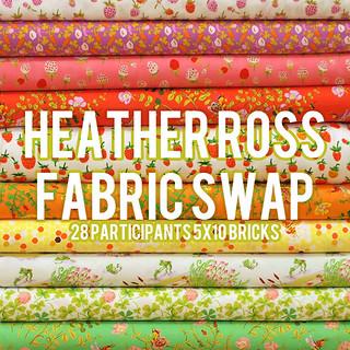 Heather Ross Fabric Swap
