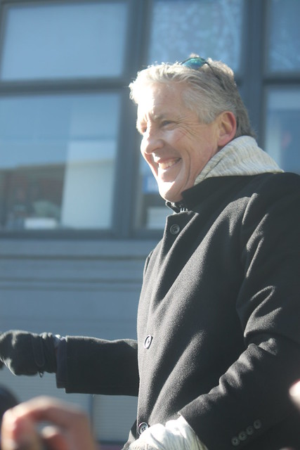 Seattle Seahawks Super Bowl XLVIII Parade - Coach Pete Carroll from Flickr via Wylio