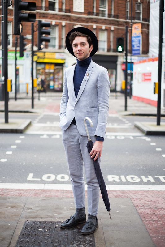 Street Style - Mark, London Collections: Men