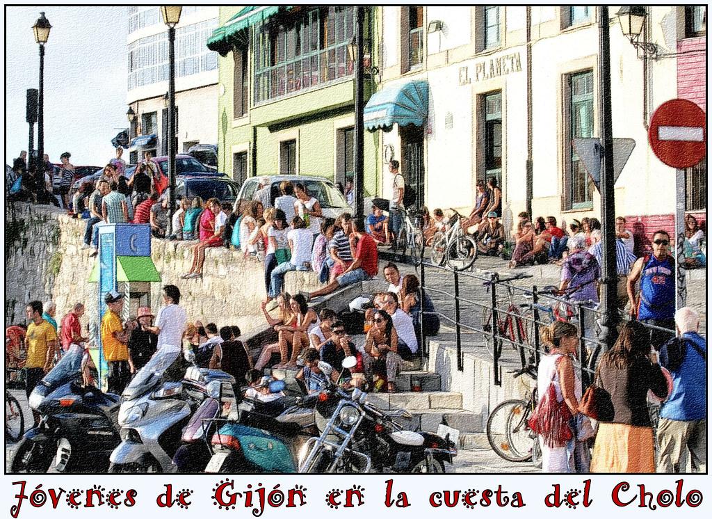 calles de Gijón
