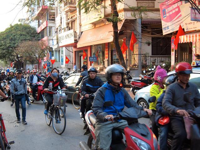 Street in Hanoi, Vietnam