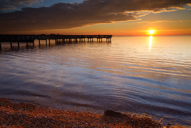 Восход солнца на Сиднейском побережье