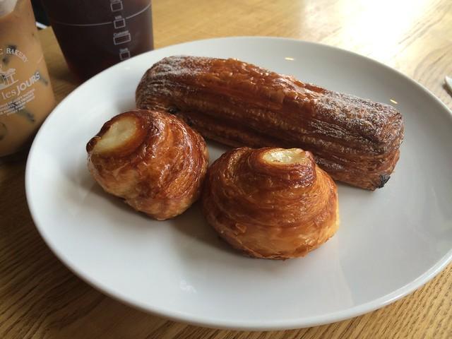 Breakfast pastries - Tous Les Jours