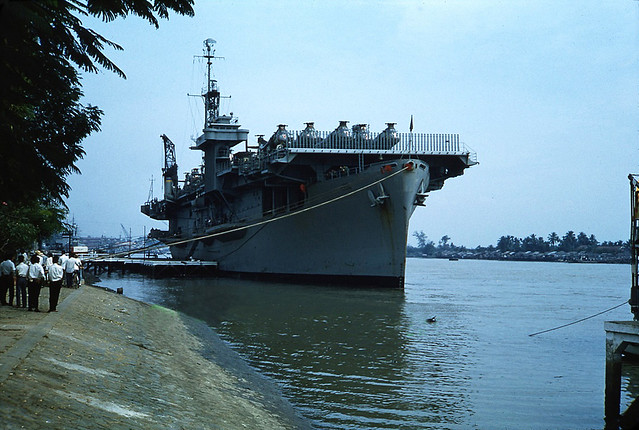 Saigon 1962 - Navy Aircraft Transport USNS Core (T-AKV-41)