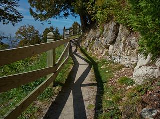 Zigzagging Trail