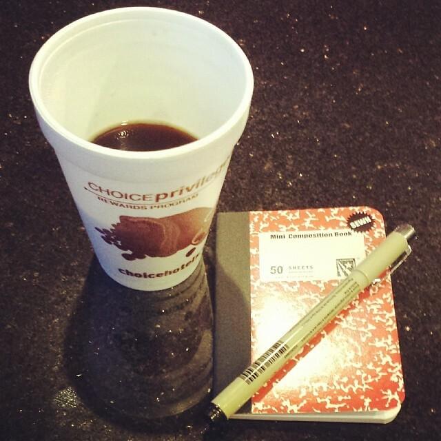 #pen #paper #coffee