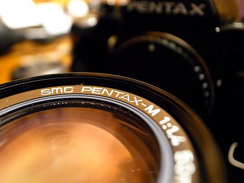 PENTAX-M F1.4 50mm