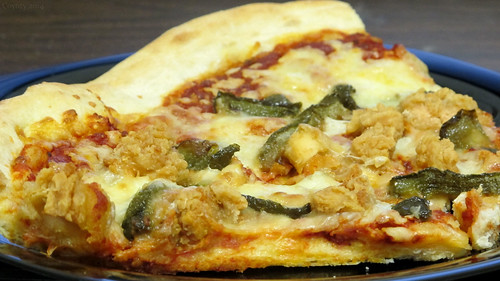 Crispy chicken and peppers pizza by Coyoty