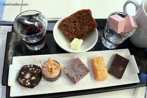 A line-up chocolate goodies