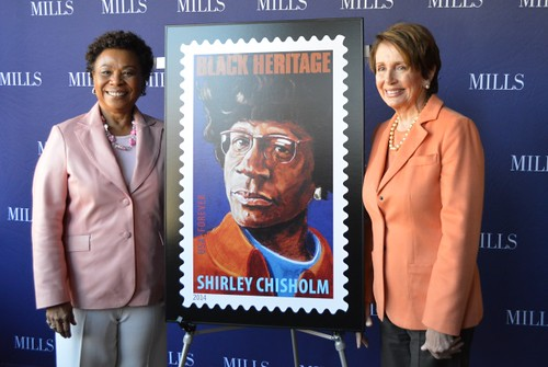 Congresswoman Nancy Pelosi pays tribute to the legacy of Shirley Chisholm
