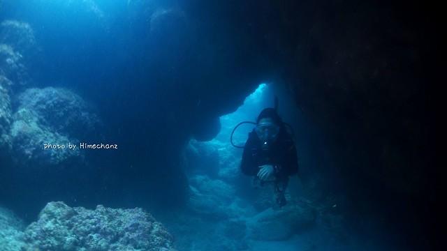 洞窟の中は更に激寒だったけどw