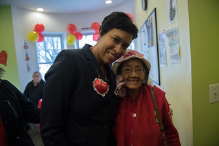 February 14, 2017 Valentine's Day Party Hosted by Vida Senior Center