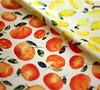Lemons and tangerines fabric by katerina.izotova