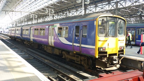 Class 150 139 Northern Rail' Diesel Multiple Unit on 'Dennis Basford's railsroadsrunways.blogspot.co.uk'