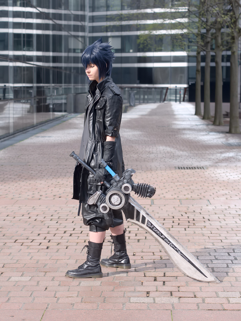 related image - Shooting Final Fantasy XV - La Défense -2017-04-01- P2030022