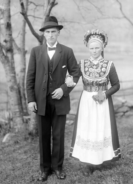 Anna and Johannes Fossheim, 1919.