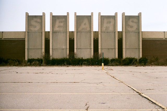 Former Salem Mall Sears, Canon AE-1