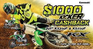 MX Kicker $1000 Cashback