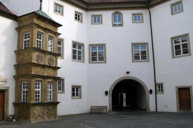 Münnerstadt, Deutschherrenschloss, Fujifilm FinePix S1000fd