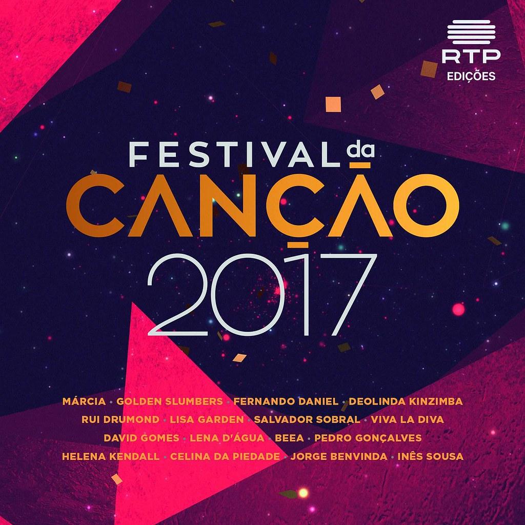 Festival da Canção 2017_capa album