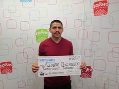 Alejandro Diaz - $28,000 - Nampa - Jacksons Store