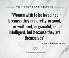 Love Quotes by Henri Frederic Aniel