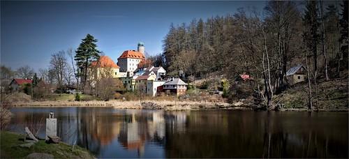 zámek Libá-rybník Kladivo