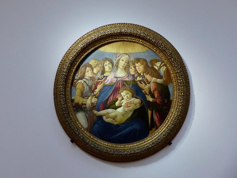 Uffizi Gallery Museum of Florence, Italy[