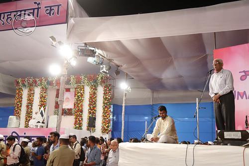 General Secretary, SNM, V.d. Nagpal from Delhi