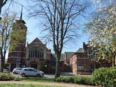 Jubilee Gardens, Rugby - Rugby Baptist Church and Rugby Baptist Sunday School Hall on Regent Place