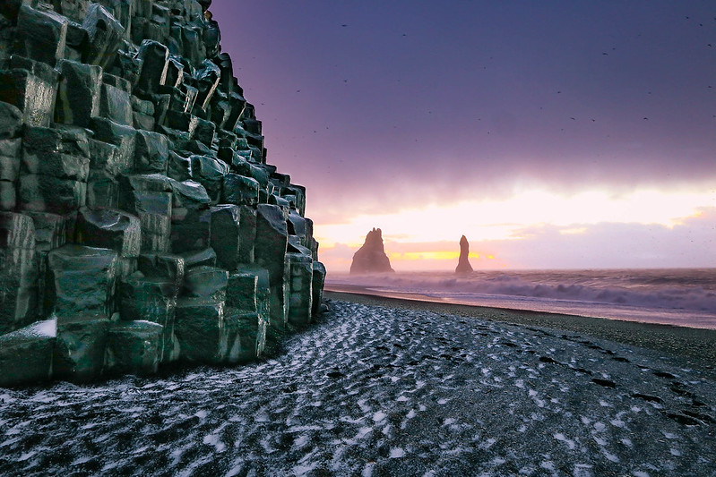 Reynisfjara black sand beach is a must see in iceland for How many black sand beaches in the world