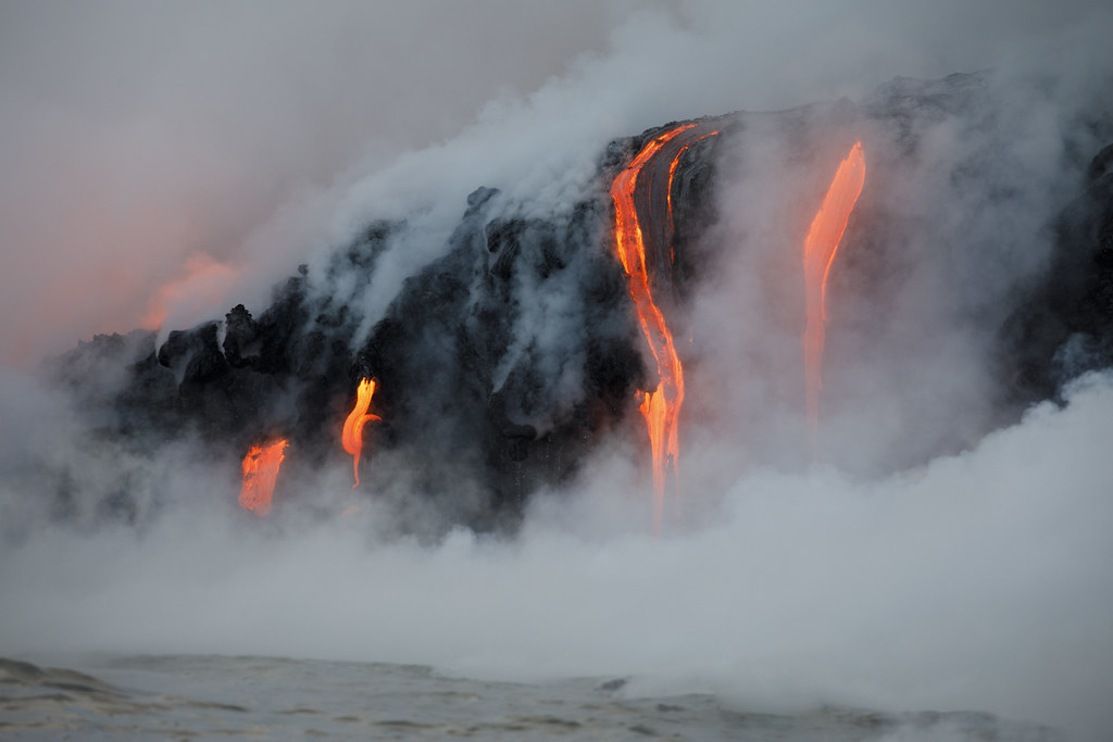 Mount Kilauea Volcano
