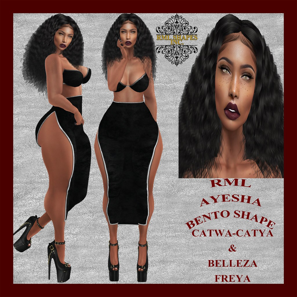 RML AYESHA BENTO SHAPE OFFICIAL AD - SecondLifeHub.com