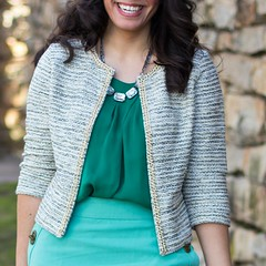 Kohls Cropped Tweed Jacket - $30