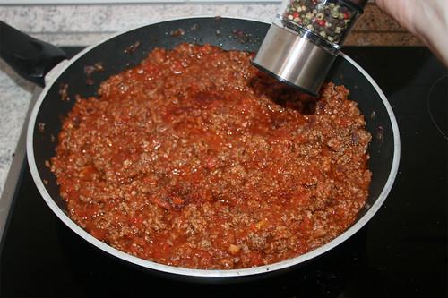 38 - Aufkochen mit Gewürzen abstimmen / Taste with seasonings