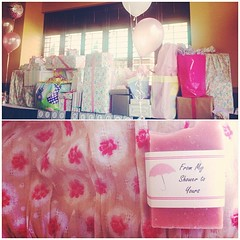 Andrea and Ian's baby shower - so excited for baby Gia!