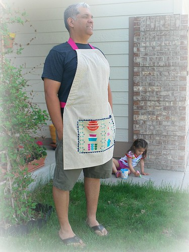 Manly apron ha ha