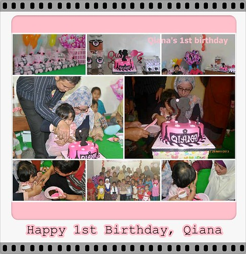 Qiana First Birthday
