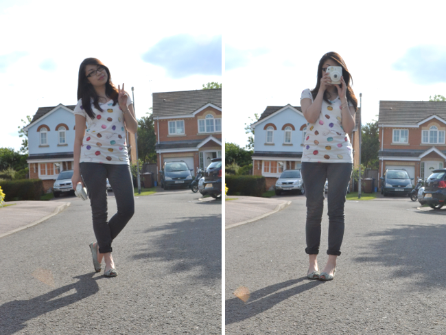 Daisybutter - UK Style and Fashion Blog: ways to wear, uniqlo x laduree, instax mini 8