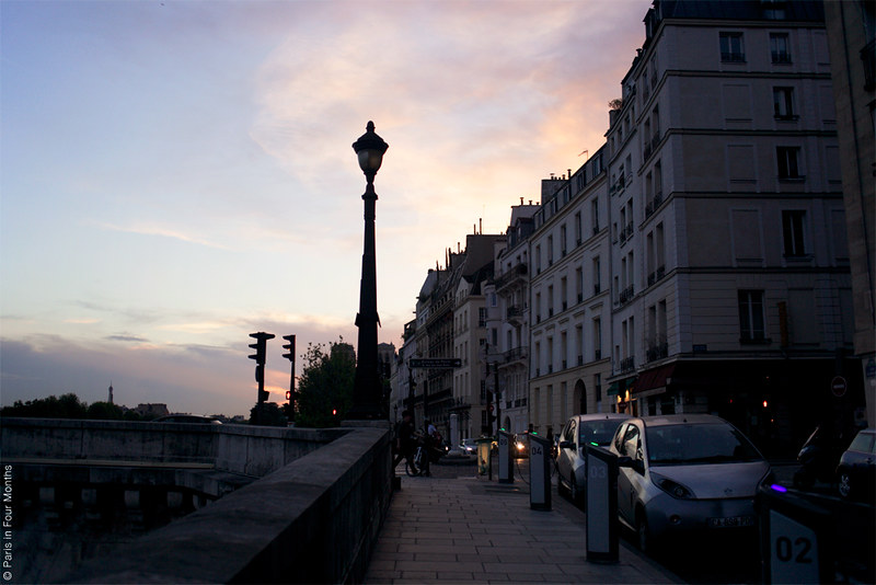 An Evening on Île Saint Louis