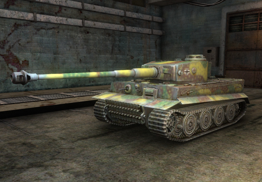 W.tiger World Of Tanks The un-upgraded Tiger I - with
