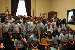 6.12.13 Adelante College Prep Students Meeting with Rep. Ellison