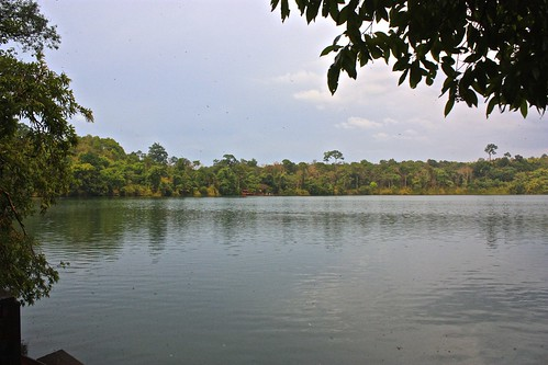 Yeak Laom, a volcanic crater lake outside of Ban Lung