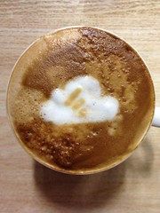 Today's latte, Feedly Cloud.