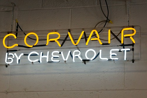 Chevrolet Corvair Neon sign